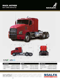 Mack Anthem 6x4 CB46 mDrive E5