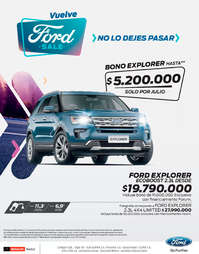 Ford Sale