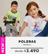 Promo  Poleras Infantil