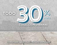 Colección urbana 30off