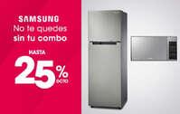 25% de descuento Samsung