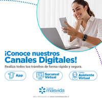 Visita nuestros canales digitales