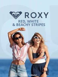 Red White Beach & Stripes