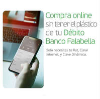 Compra online sin tener el plástico de tu débito
