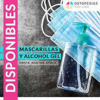 Mascarillas Y Alcohol Gel