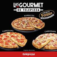 Las gourmet de Telepizza
