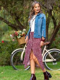 Jeans & Flores