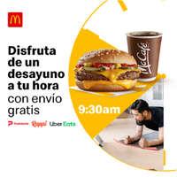 Envío gratis en tu desayuno