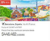 Viaja a Barcelona