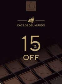 Cacaos del mundo con el 15% dcto.