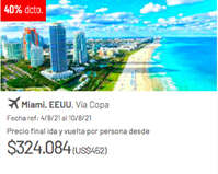Viaja a Miami
