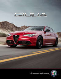 Ficha Técnica Alfa Romeo GIULIA