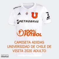 Camiseta U de Chile Visita