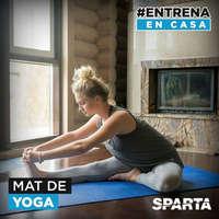 #Entrena en casas Mat Yoga