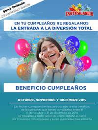 Beneficios Cumpleaños
