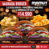 Manada burger