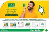 Paga tu tarjeta Cruz Verde rápido y fácil