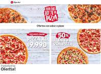 Ofertas con sabor a pizza