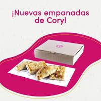 Nuevas empanadas Cory
