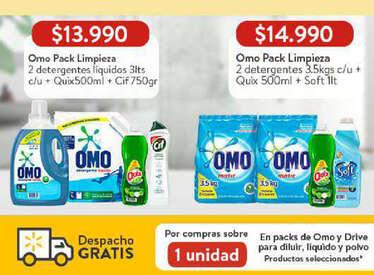 Omo Pack Limpieza precio especial- Page 1
