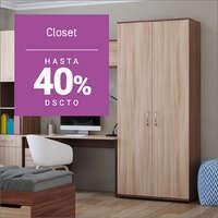 Hasta 40% off en closet