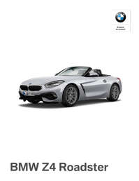 The All-New BMW Z4 Roadster
