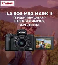 Nueva EOS M50 Mark II