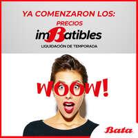 ¡Aprovecha los precios Imbatibles de Bata!