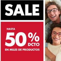 Sale Hasta 50% off