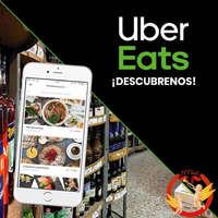 Estamos en Uber Eats