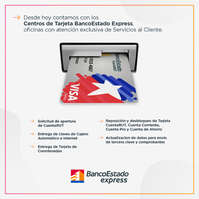 Centros de Tarjeta BancoEstado Express