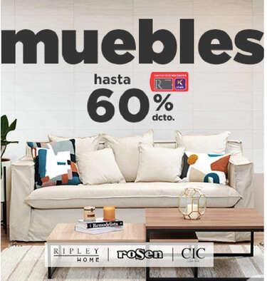 Muebles hasta 60% de dcto- Page 1