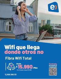 Wifi que llega