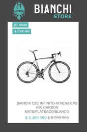 Oferta en Bicicleta Bianchi