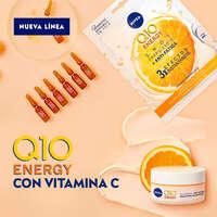 Línea anti-arrugas y anti-fatiga NIVEA Q10 Energy