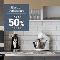 Electrodomésticos hasta 50% off