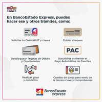 Trámites en BancoEstado Express