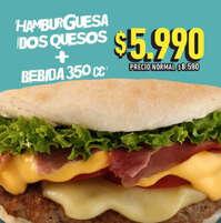 Hamburguesa dos quesos