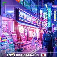 Envía dinero a Japón