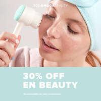 30% OFF maquillaje, skincare, accesorios de belleza y mucho más
