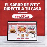 Pide el sabor de KFC a tu casa