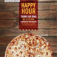 50% de descuento en pizzas de 3 o más ingredientes