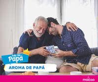 ¡El aroma de papá es único e incomparable!