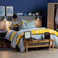 Dormitorio con onda