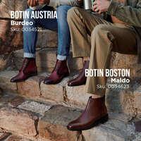 Botines Austria y Boston