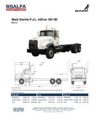 Mack Granite PJL mDrive 18K HD