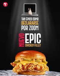 Nuevo epic chicken fillet