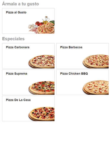 Pizzas- Page 1