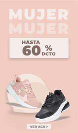 Hasta 60% off en calzado de mujer