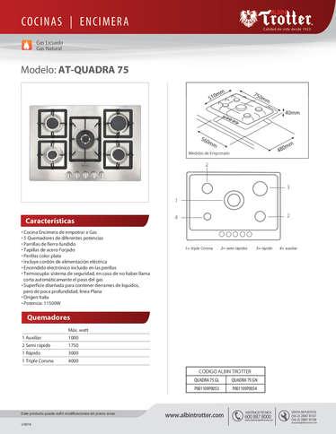 ENCIMERA AT QUADRA- Page 1